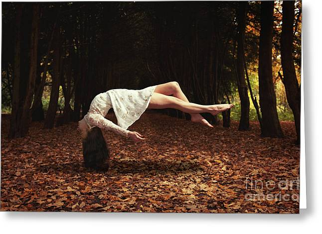 Levitation Greeting Card