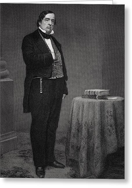 Lewis Cass 1782 To 1866. American Army Greeting Card