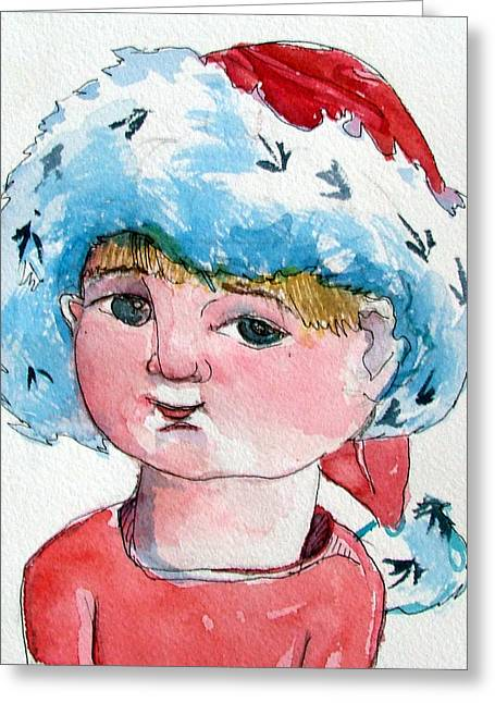 Lexi Greeting Card by Mindy Newman