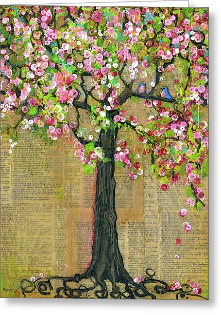 Lexicon Tree Of Life 4 Greeting Card