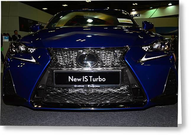 Lexus Is Turbo Greeting Card