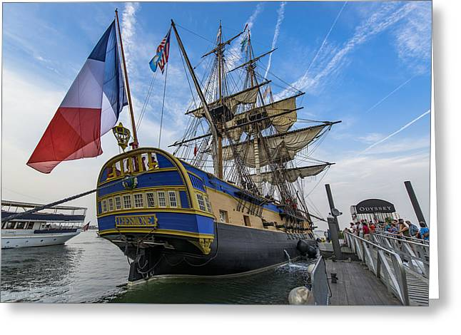 Lhermione Greeting Card