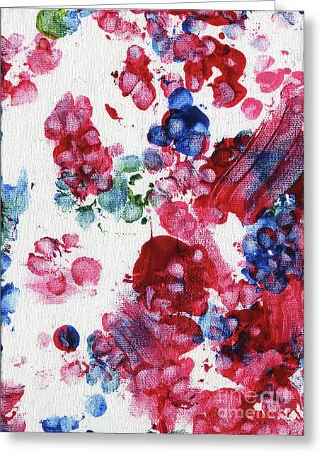 Lian's Garden 3 Greeting Card by Antony Galbraith