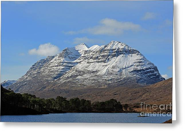 Liatach And Loch Clair Greeting Card