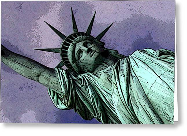 Liberty 3 Greeting Card by William  Todd