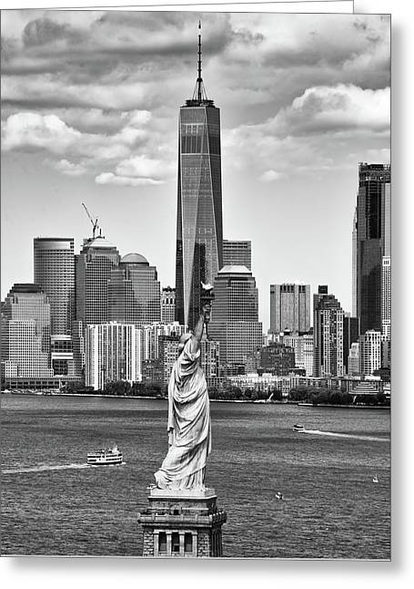 Greeting Card featuring the photograph Liberty And Freedom 2 by Rand