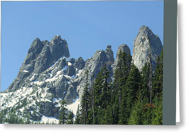 Liberty Bell Mountain Greeting Card by Dan Sproul