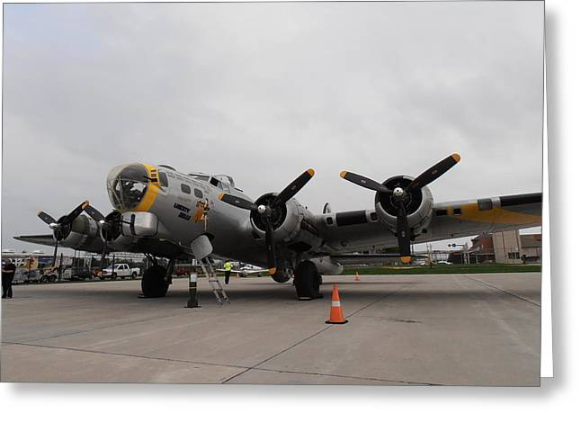 Liberty Belle B17 Greeting Card