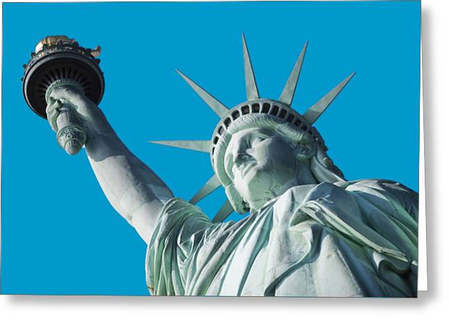 Liberty II Greeting Card by  Newwwman