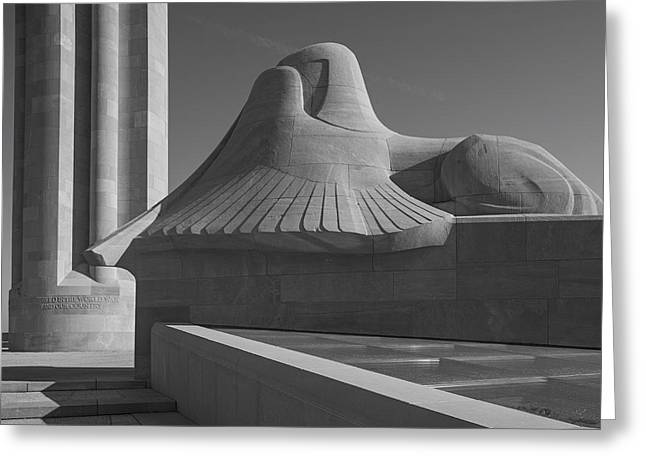 Liberty Memorial Kansas City Missouri Greeting Card by Don Spenner