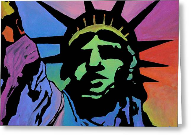Liberty Of Colors Greeting Card
