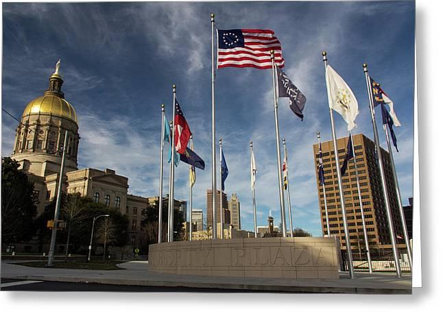 Liberty Plaza Greeting Card