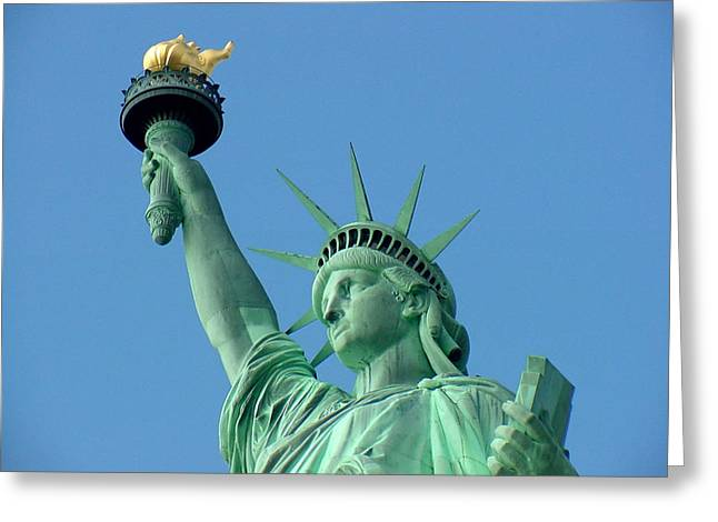 Liberty Stand Tall Greeting Card