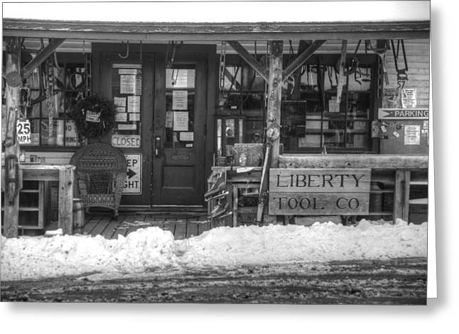 Liberty Tool Co Greeting Card