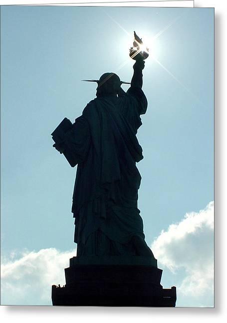 Liberty V02 Greeting Card
