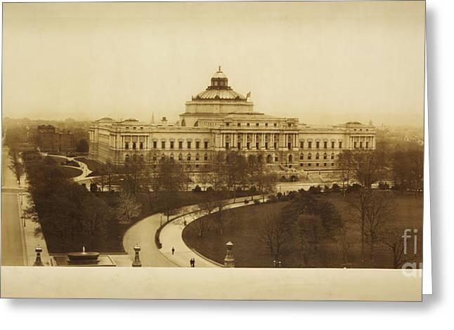 Library Of Congress Library At Washington Greeting Card