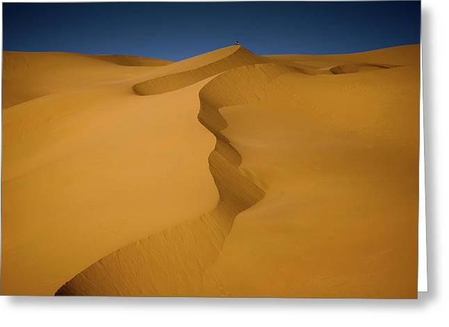 Libya Dunes Greeting Card