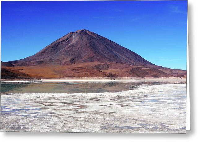 Licancabur Volcano, Bolivia Greeting Card by Aidan Moran