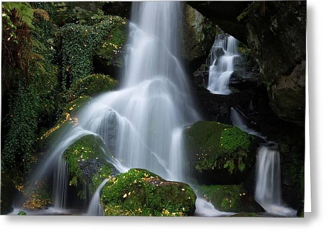 Lichtenhain Waterfall Greeting Card