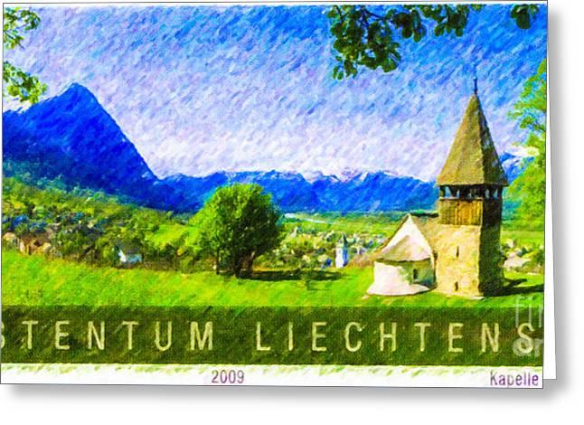 Liechtenstein Greeting Card