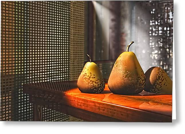 Life As A Pear Greeting Card