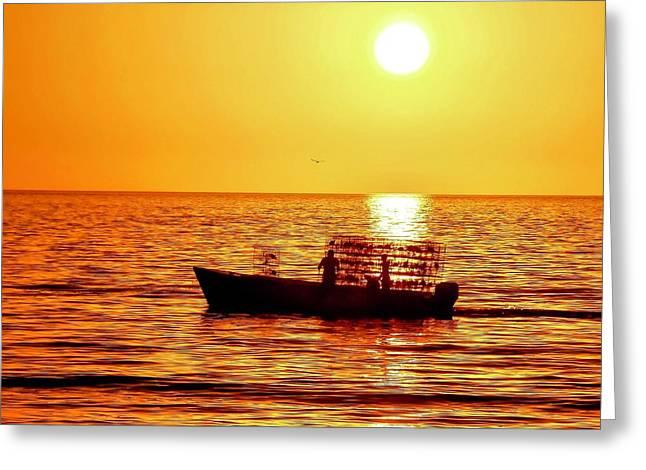 Life At Sea Greeting Card
