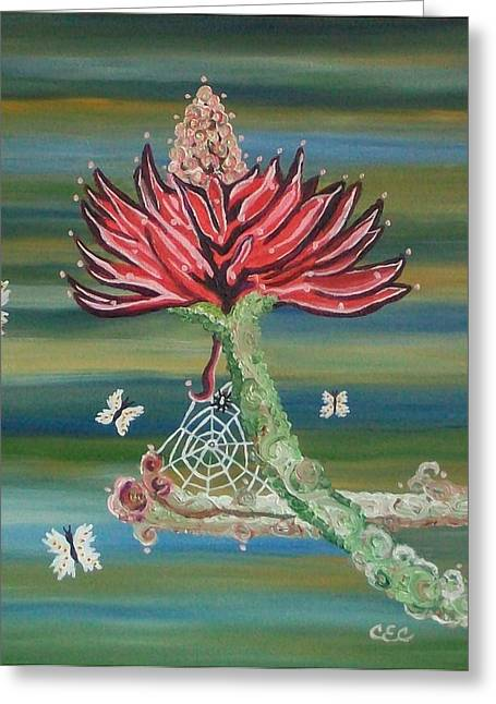 Life Cycles Greeting Card by Carolyn Cable