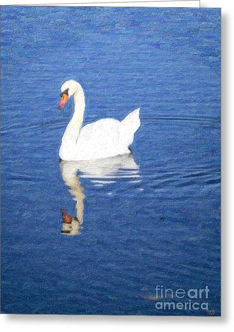 Life Floating By Greeting Card