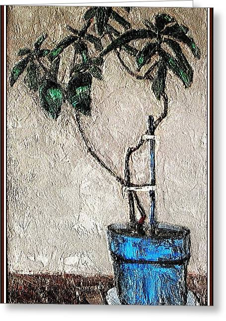 Life In A Pot 1 Greeting Card by Pemaro