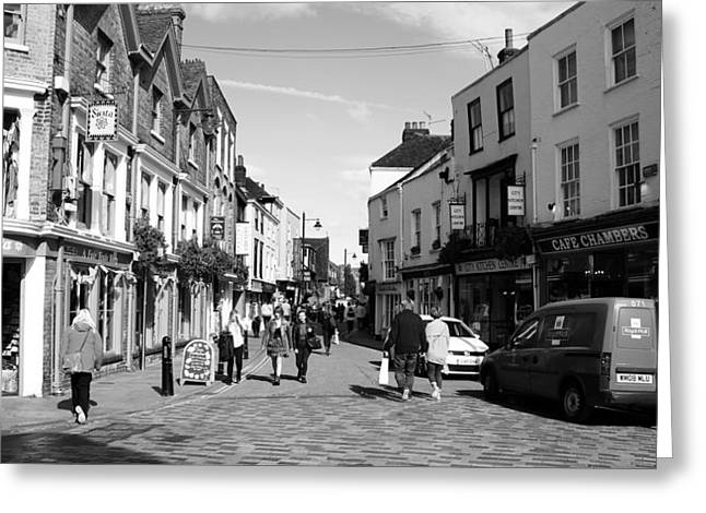 Life In Canterbury Greeting Card