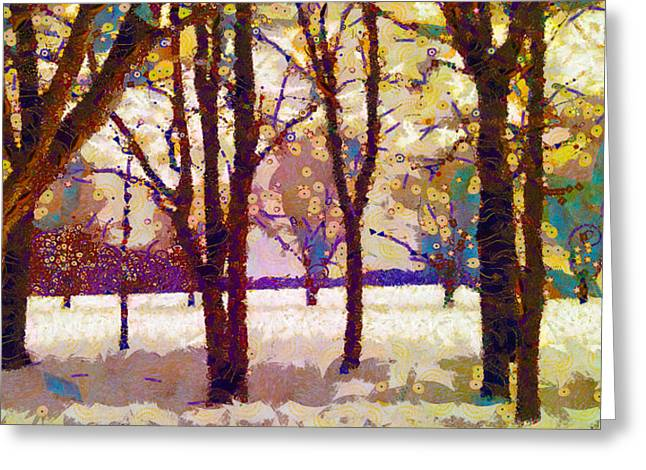 Life In The Dead Of Winter Greeting Card