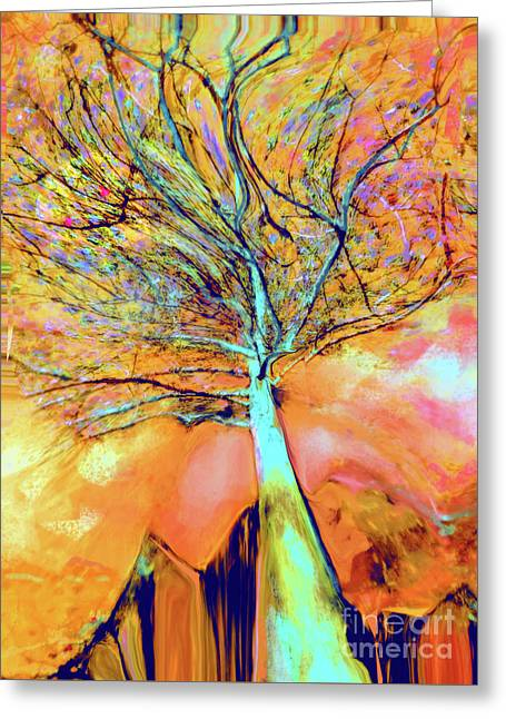 Life In The Trees Greeting Card