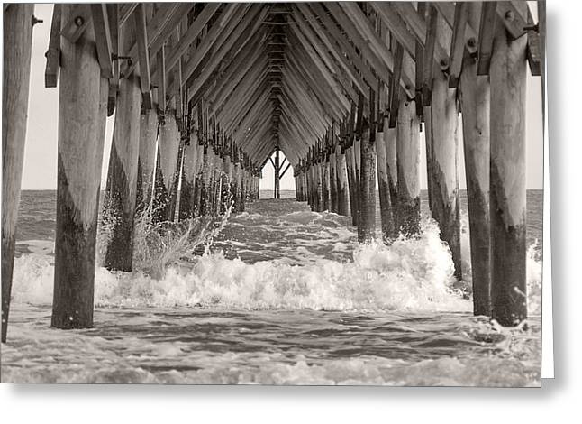 Life Is Good On Topsail Scp Greeting Card by Betsy Knapp
