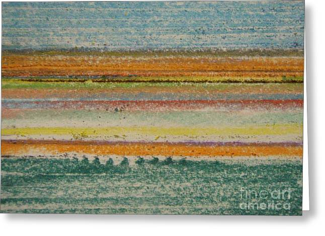 Life Lines  Greeting Card by Kristine Nora