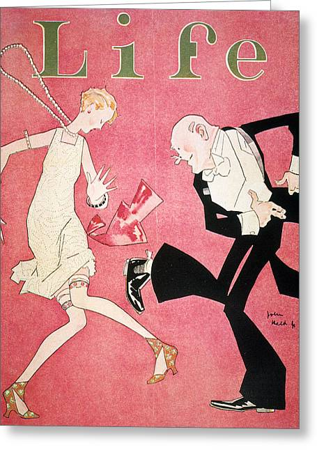 Life Magazine Cover, 1926 Greeting Card