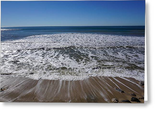 Life Of Ocean Bubbles Greeting Card