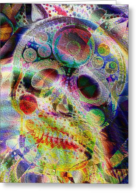 Greeting Card featuring the digital art Life Of The Party by Kiki Art