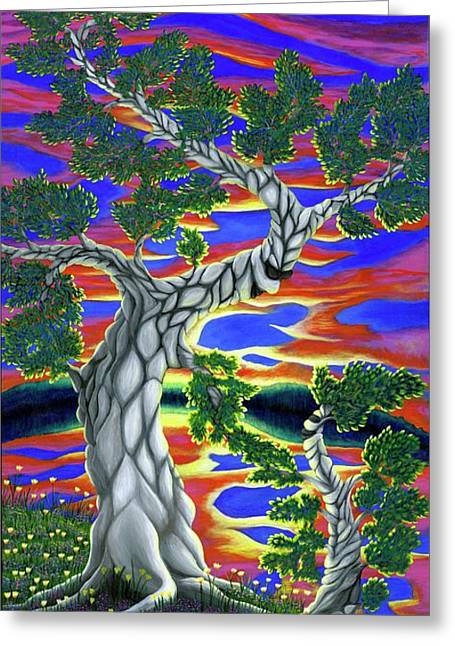 Life Of Trees Greeting Card