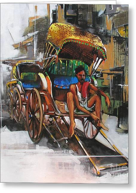 Life Styl Greeting Card by Sachin Kute