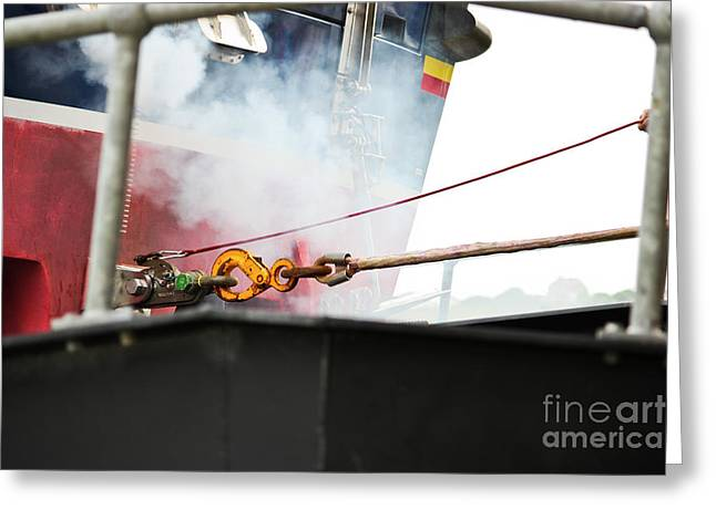 Lifeboat Chocks Away  Greeting Card