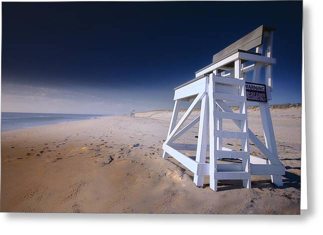 Lifeguard Chair - Nauset Beach Greeting Card