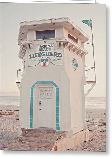 Laguna Beach Greeting Card by Nastasia Cook