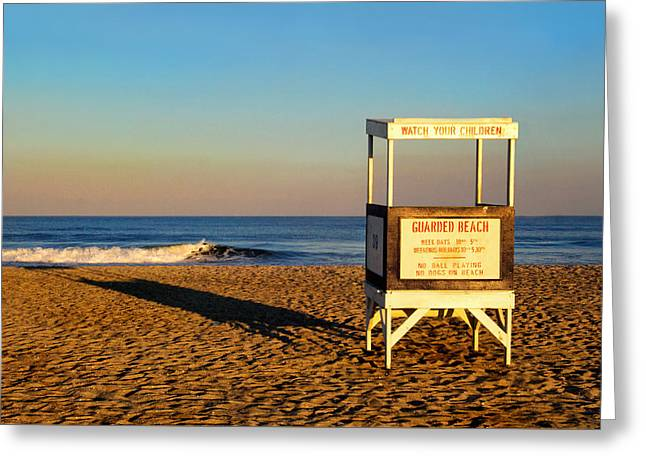 Lifeguard Stand At Ocean City Nj Greeting Card