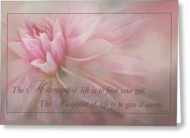 Lifes Purpose Greeting Card