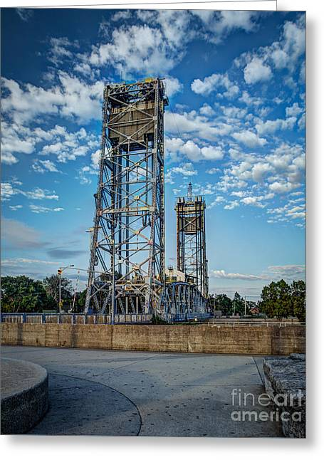 Lift Bridge Greeting Card