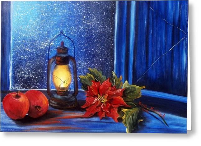 Light 2 Greeting Card by Vesna Martinjak