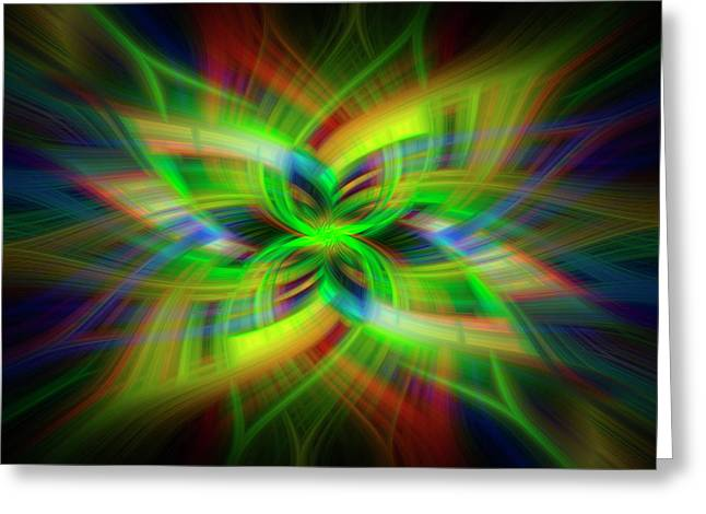 Light Abstract 1 Greeting Card
