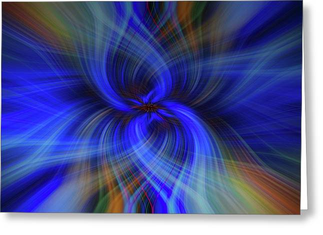 Light Abstract 7 Greeting Card