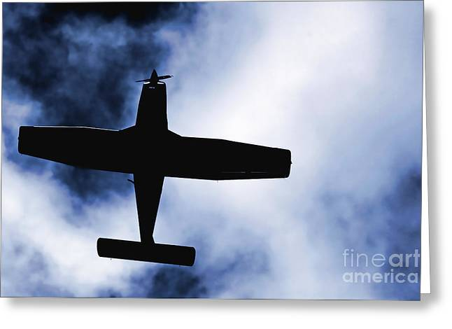 Greeting Card featuring the photograph Light Aircraft by Craig B
