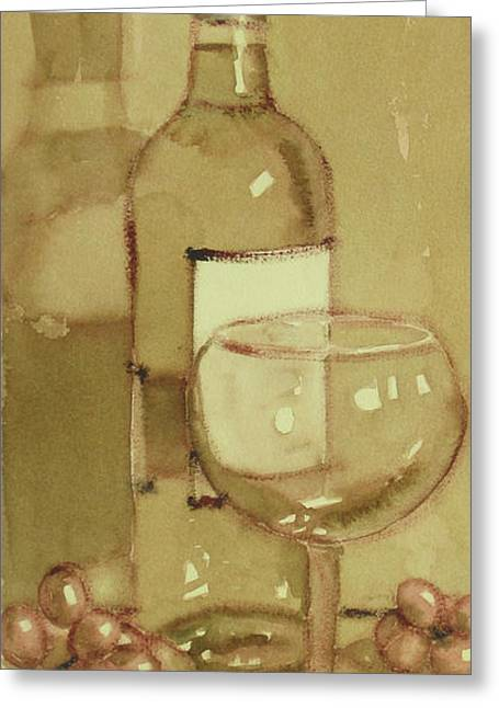Light And Glass Two Greeting Card